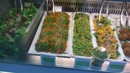 seaweed salad at wasabi