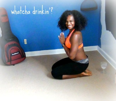 whatcha drinkin? michelle bernard