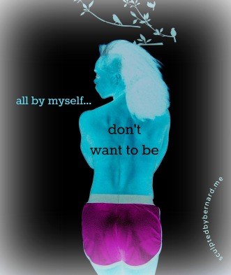 by myself